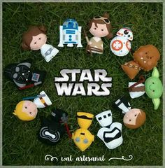 Molde Artesanal Digital Combo Star Wars - Baby Star Wars - Ideas of Baby Star Wars - Molde Artesanal Digital Combo Star Wars Star Wars Christmas, Felt Christmas, Christmas Crafts, Christmas Ornaments, Clay Crafts, Felt Crafts, Diy And Crafts, Natal Star Wars, Star Wars Crafts