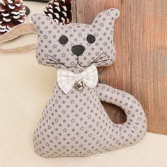 Personalised Felix The Cat With Bowtie Fabric Doorstop by Dibor, the perfect gift for Explore more unique gifts in our curated marketplace. Cat Lover Gifts, Cat Gifts, Cat Lovers, Felix The Cats, Fleece Scarf, Doorstop, Novelty Fabric, Door Stopper, Tweed Fabric