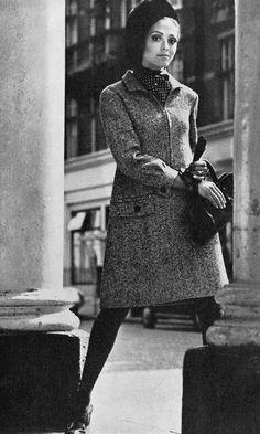 1967 coat-dress / UK Vogue
