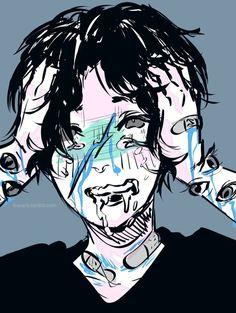 Resultado de imagen para cute creepy  boy art