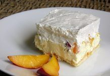 Prajitura cu nectarine fara coacere Baking Recipes, Cake Recipes, Bread Dough Recipe, Kolaci I Torte, Summer Cakes, Croatian Recipes, Lava Cakes, Brownie Cake, Food Cakes