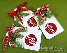 Circle Greeting Cutout Set, Pine Pair, Holly Flourish