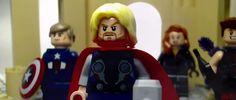 Vingadores: A Era de Ultron em versão Lego. #Vingadores #EradeUltron #Marvel