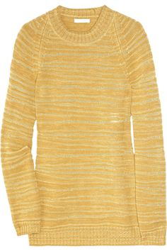 Butterscotch sweater by Chloe.  Different color but love the style!