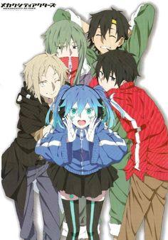 Ene,Kano,Kido,Seto & Shintarou | Mekakucity Actors