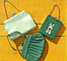 Cute as a button….retro children's purses.