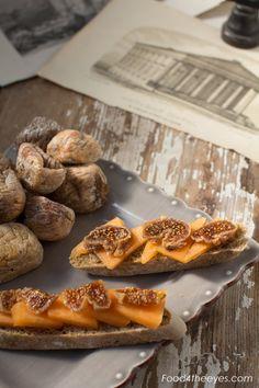 Figs, melon and brown fennel bread  www.food4theeyes.com, Ph. Luca Serradura