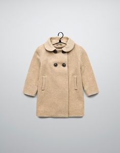 coat with back pleats - Coats - Baby girl (3-36 months) - Kids - ZARA United States GGOT IT