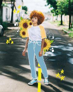 ☆🌾INSTAGRAM: @marieneh_ ☆🌾 Digital Art Photography, Photography Illustration, Tumblr Photography, Photoshop Photography, Creative Photography, Illustration Art Drawing, Portrait Illustration, Digital Illustration, Illustrations