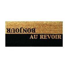 French Greetings Doormat ==