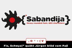 Sabandija rounded font ~ Sans Serif Fonts on Creative Market