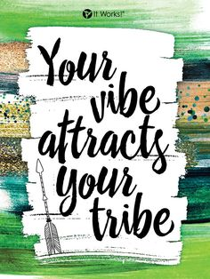 What kind of tribe do you want to attract ? Have the vibe of a Black Diamond  and watch how your team grows!