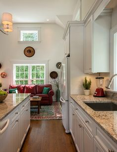 Small home that feels HUGE inside. Love the finishes and light! Plus a great porch.