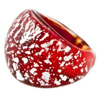 Beautiful Murano Glass Rings - Murano Jewellery