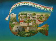 Oase des Friedens – Wahat al-Salam - Neve Shalom Jerusalem, Arabic Art, Jewish Art, World Peace, Star Of David, Local Artists, Islamic Art, Yorkie, Fine Art Photography