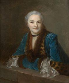 Marie-Gabrielle-Louise de La Fontaine Solare de la Boissiere, marquise de Sesmaisons, mid 18th century, studio of Maurice Quentin de la TOUR