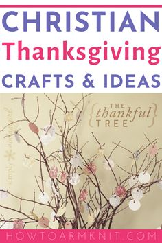These Christian Thanksgiving crafts are perfect ideas for kids and adults alike to give as gifts to friends and family or to make just for fun. Make these Christian thanksgiving crafts this year for the holiday season. Easy Easter Crafts, Thanksgiving Crafts For Kids, Fall Crafts, Craft Projects For Kids, Crafts For Kids To Make, Kids Crafts, Christian Crafts, Christian Sayings, Christian Art