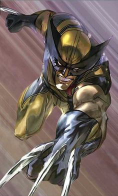 """""""Because you thought you were stronger than the Hulk? No one is stronger than the Hulk! Wolverine Comics, Marvel Comics, Comics Anime, Marvel Comic Universe, Comics Universe, Marvel Heroes, Wolverine Images, Marvel Avengers, Marvel Comic Character"""