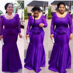 Nigerian Wedding Presents 2015 Aso-ebi colour combination ideas & styles 8