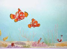 Finding Nemo Nursery Mural