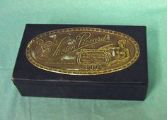1950's Lucien Piccard Watch Box & Extra's Watchmaking Sea Shark Wrist Watch VTG