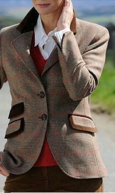♔ Country Tweed