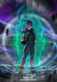 Rock Lee by matjosh