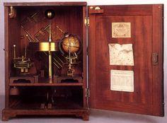 Mechanical Orrery- I like the idea of an orrery inside a small cabinet.
