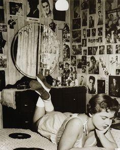 Elvis fan c.1950s