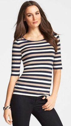 a classic striped t shirt