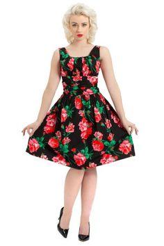 Flower dress bbw 2