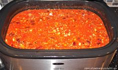 My Biscuits are Burning: Pasta E Fagioli (Slow Cooker) Slow Cooker Freezer Meals, Slow Cooker Pasta, Slow Cooker Recipes, Crockpot Recipes, Cooking Recipes, Cooking For A Crowd, Oven Cooking, Food For A Crowd, Nesco Roaster Oven