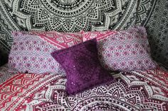 Have Sweet Dreams on these beautiful Pillow Covers. Made with 100% Cotton…
