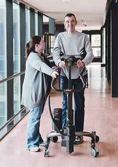 Re-learning Gait After a Stroke on ADVANCE for Physical Therapy & Rehab Medicine