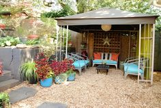 Liza & David's Eclectic Mod Home & Garden in Atlanta