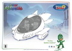 To the Gekko-mobile! #pjmasks #gekko #disneyjunior