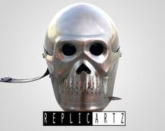 Skull Helmet  Adult wearable  made of Solid stell