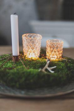 Kaunis jouluasetelma Nemillan tuotteilla - Saa kurkistaa blogi Candle Holders, Candles, Porta Velas, Candy, Candle Sticks, Candlesticks, Candle, Candle Stand