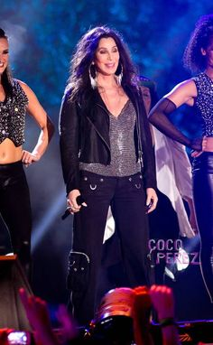 Cher at 67 years young.  July 4, 2013 | NYC Macy's 4th Spectacular