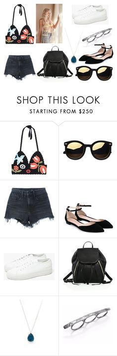 """""""ALL I ASK"""" by laura-melissa-cortes on Polyvore featuring moda, RED Valentino, Alexander Wang, Gianvito Rossi, Common Projects, Rebecca Minkoff, Ippolita y Vanessa Lianne"""