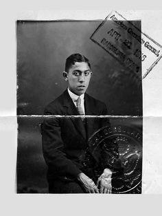 Paulino Alcantara, passport photo, 1916 #kasaysayan
