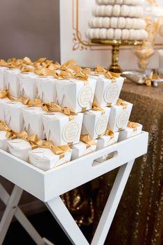 Elegant Gold + White Baptism Party via Kara's Party Ideas KarasPartyIdeas.com #goldandwhitebaptismdesserttable (34)