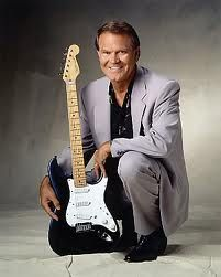 "Glen Campbell - great studio musician and had some of the best songs of the '60-70s, despite his ""demons."" Going out with dignity and class now..."