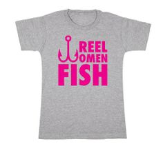 She doesn't just fish, she is good at it too! Reel Women Fish Ladies Fishing Humor - Womens T-Shirt - LC Trendz - hunting & fishing