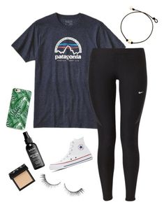 """""""carnival"""" by hailey2104 on Polyvore featuring Patagonia, NIKE, NARS Cosmetics and Converse"""