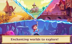 Bubble Witch 2 Saga Mega MOD Apk [Unlimited Lives and Boosters] – Android Games Bubble Witch, Egypt Games, Dark Spirit, Bubble Games, Candy Crush Saga, Best Android Games, Bubble Shooter, Free To Play, Game Item
