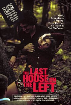 The Last House on the Left, 1972.