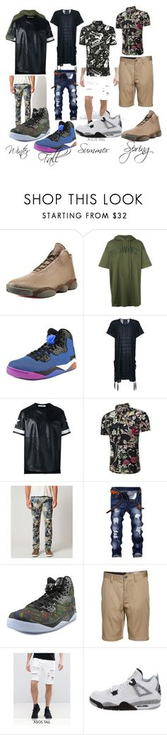 """J Life"" by jassymonik on Polyvore featuring Jordan Brand, Juun.j, Alchemy, Givenchy, Rock Revival, Volcom, ASOS, NIKE, Dolce&Gabbana and men's fashion"