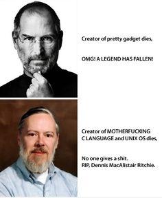Dennis MacAlistair Ritchie 1941 - 2011