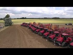 Case IH 50 Quadtracs World Record from Helicam Agriculture, Farming, Case Ih, World Records, Tractors, Cool Pictures, Country Roads, English, Red